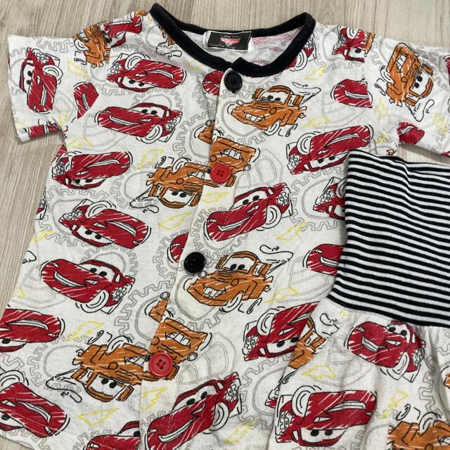 Disney(ディズニー)のカーズ パジャマ95センチ キッズ/ベビー/マタニティのキッズ服男の子用(90cm~)(パジャマ)の商品写真