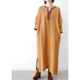 トゥデイフル(TODAYFUL)のvilld Linas uneune cloth kaftan dress(ロングワンピース/マキシワンピース)
