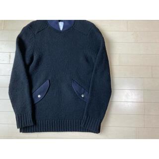 sacai - sacai  ショールカラーセーター