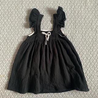 Caramel baby&child  - liilu kids バックリボン ワンピース ドレス