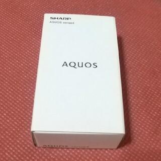 AQUOS - シャープ AQUOS Sense4   SHM-15  ブラック