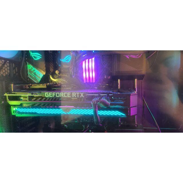 ASUS(エイスース)のASUS ROG RTX 3070 OC 8gb スマホ/家電/カメラのPC/タブレット(PC周辺機器)の商品写真