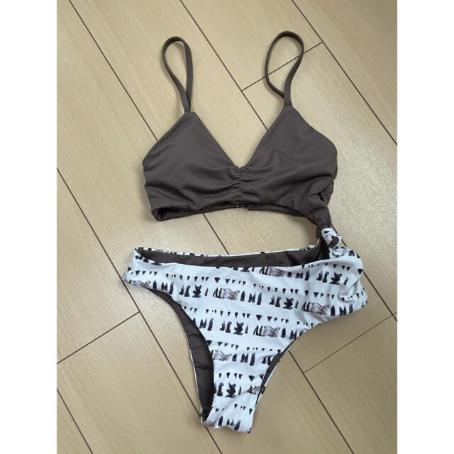 ALEXIA STAM(アリシアスタン)のMia Coconut x White Shell Mサイズ レディースの水着/浴衣(水着)の商品写真