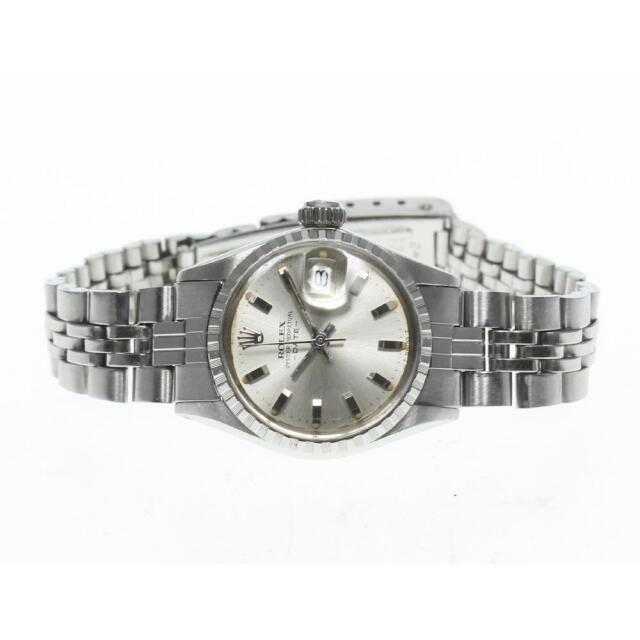 ROLEX(ロレックス)のロレックス オイスターパーペチュアル デイト  6524 レディース 【中古】 レディースのファッション小物(腕時計)の商品写真