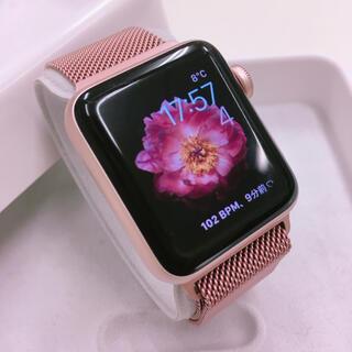 Apple Watch - レア色 Apple Watch 2 RoseGold アップルウォッチ 38mm