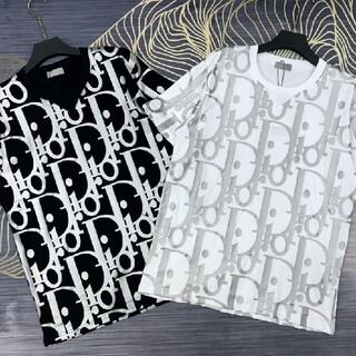 Christian Dior - *DIOR*2021蛍光満印アルファベット半袖Tシャツ