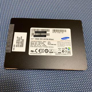 サムスン(SAMSUNG)のSamsung SSD 2.5インチSATA 128GB使用時間44h(PCパーツ)