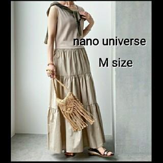 nano・universe - nano universe マキシワンピース ロングワンピース ナノユニバース