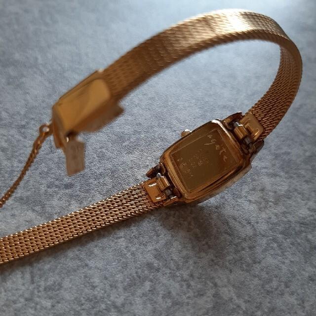 agete(アガット)の腕時計 agate ゴールド  レディースのファッション小物(腕時計)の商品写真