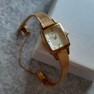 腕時計 agate ゴールド
