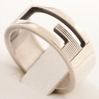 Gucci - グッチ  925  シルバー レディース リング・指輪