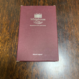 WHITEHOUSE COX 長財布 未使用