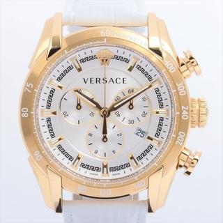 VERSACE - ヴェルサーチ  GP×革   レディース 腕時計
