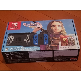 ニンテンドースイッチ(Nintendo Switch)の任天堂 Switch 本体 ドラゴンクエスト11 ロトエディション 動作確認済み(家庭用ゲーム機本体)