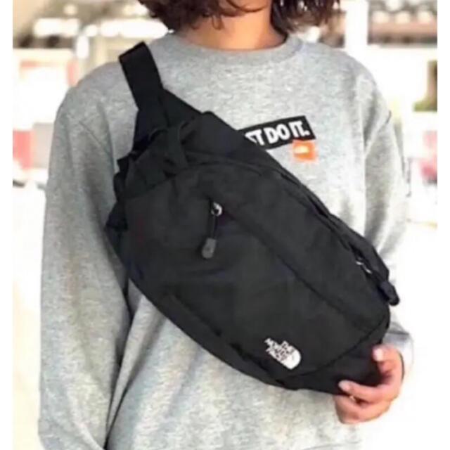 THE NORTH FACE(ザノースフェイス)のブラック★ノースフェイス ★クラッシック カンガ ウエストポーチ レディースのバッグ(ボディバッグ/ウエストポーチ)の商品写真