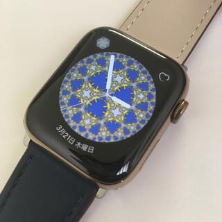アップルウォッチ(Apple Watch)のApple Watch series4 ゴールドステンレス アップルウォッチ(腕時計(デジタル))