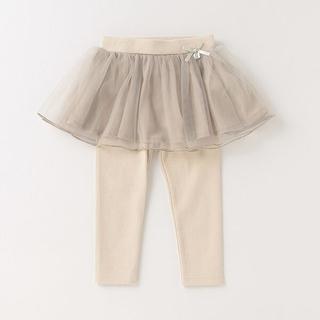 petit main - プティマイン チュール(スカート)付き レギンス 120