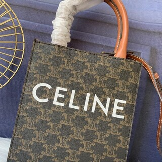 celine - CELINE セリーヌ トートバッグ スモール バーティカル カバ