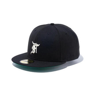 FEAR OF GOD - ESSENTIALS New Era Fitted Hat 黒 7 3/8