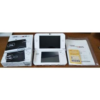 ニンテンドー3DS(ニンテンドー3DS)の【購入証明書付き】New Nintendo 3DS LL パールホワイト(携帯用ゲーム機本体)