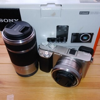 SONY - SONY ILCE-6000 α6000 ダブルズームキット