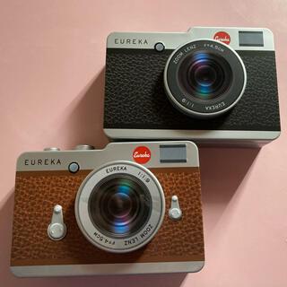 カルディ(KALDI)の【Miaさん用】KALDI カメラ缶  茶色のみ(小物入れ)