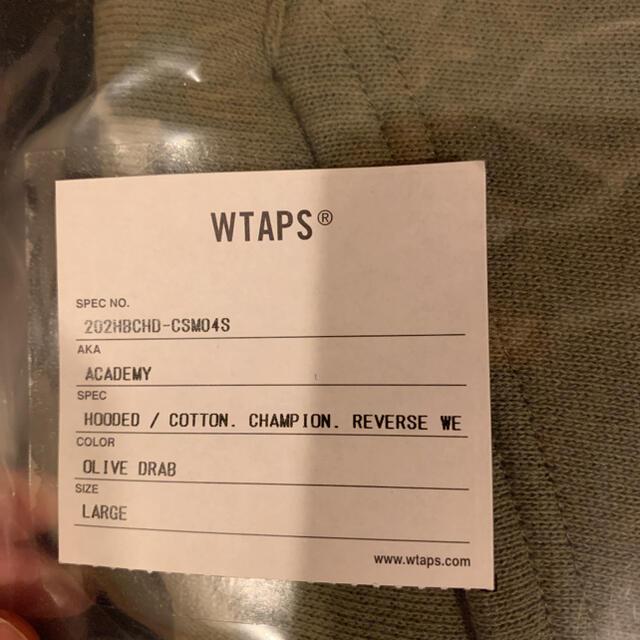 W)taps(ダブルタップス)のwtaps champion revers weave hooded メンズのトップス(パーカー)の商品写真