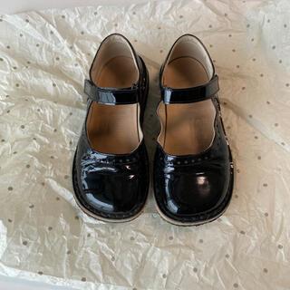 ボンポワン(Bonpoint)のぺぺ エナメル シューズ 靴 入学式 卒園式 ボンポワン(フォーマルシューズ)