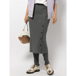 BARNYARDSTORM - BARNYARDSTORM バンヤードストーム リブレギンス付スカート 美品