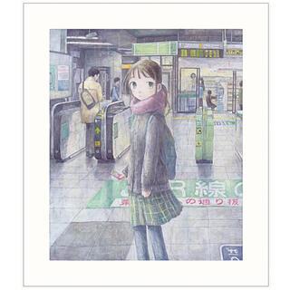 送料込 カイカイキキ くらやえみ シルクスクリーン「合言葉」ED50(版画)