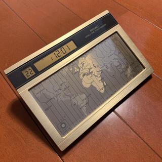 セイコー(SEIKO)の★新品★SEIKO セイコー 世界時計 デジタル 時計 WAKO 和光(置時計)