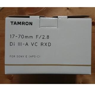 TAMRON - 新品TAMRON17-70mm F/2.8 Di III-A VC RXD