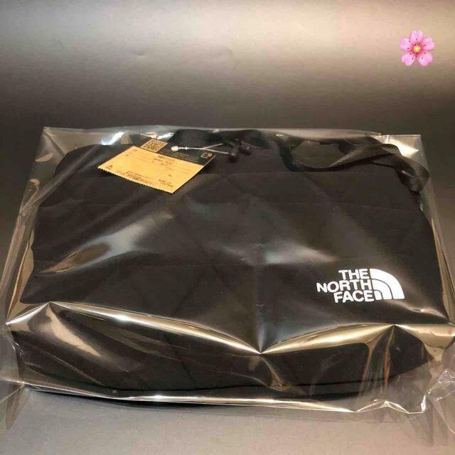 THE NORTH FACE(ザノースフェイス)の送料無料 ノースフェイス ジオフェイスポーチ ブラック NM82033 即日発送 レディースのバッグ(ショルダーバッグ)の商品写真