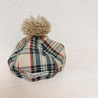 マーキーズ(MARKEY'S)のMARKEY'S♡ベビー チェックベレー帽(帽子)