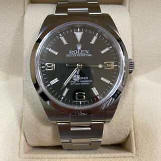 ROLEX - ROLEX SAランク エクスプローラーI 214270 腕時計 ブラックアウト