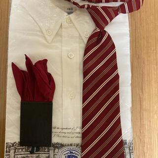 ジェイプレス(J.PRESS)のジェイ・プレス ワイシャツ ミキハウス ネクタイセット(ドレス/フォーマル)