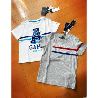 TOMMY HILFIGER - 2枚セット 新品 トミーヒルフィガー Tシャツ サイズ100