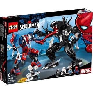 Lego - 【送料無料】レゴ スーパー・ヒーローズ スパイダーマン ヴェノム 76115