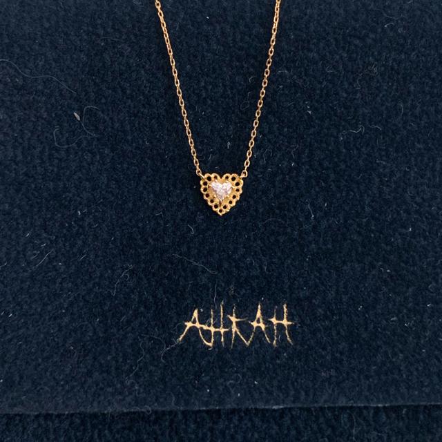 AHKAH(アーカー)のアーカー レーシアアモール  ネックレス 30000円からお値下げしました❗️ レディースのアクセサリー(ネックレス)の商品写真