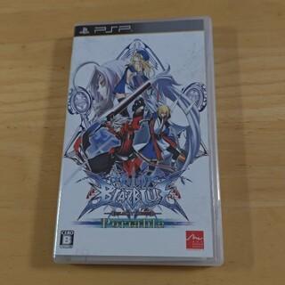 プレイステーションポータブル(PlayStation Portable)のブレイブルー ポータブル PSP(携帯用ゲームソフト)