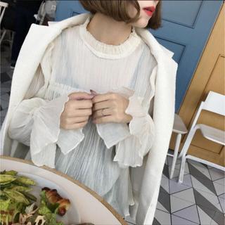 ZARA - 【超美品】NUEbyAS * Romantic blouse