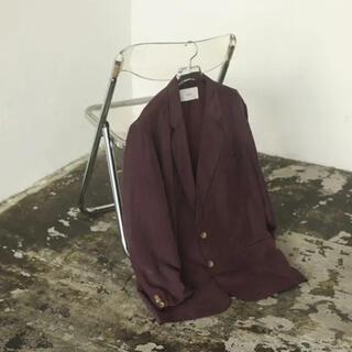 TODAYFUL - トゥデイフル Satin Over Jacket サテンオーバージャケット