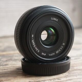 Panasonic - LUMIX G 20mm/F1.7 ASPH. H-H020 単焦点レンズ