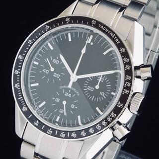 alpha - ◆激レア◆ アルファ 新品 メンズ腕時計 クロノグラフ 42mm 手巻き 防水