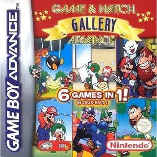 ニンテンドウ(任天堂)のゲーム&ウォッチギャラリー4 海外GBAニンテンドーDS 任天堂 ゼルダ マリオ(携帯用ゲームソフト)