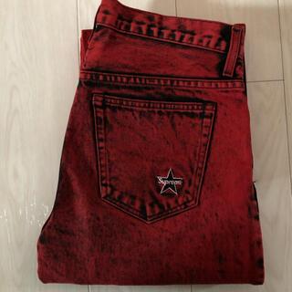 Supreme - 20ss supreme washed regular Jean 30 red