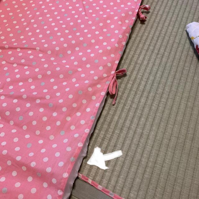 西松屋(ニシマツヤ)のお昼寝布団セット キッズ/ベビー/マタニティの寝具/家具(ベビー布団)の商品写真