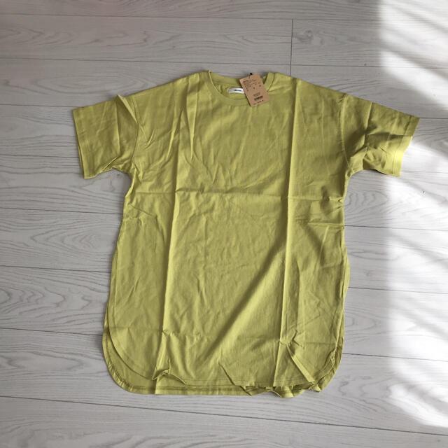 niko and...(ニコアンド)の新品未使用タグ付きニコアンドniko andサイズ4ロングテイル半袖Tシャツ レディースのトップス(Tシャツ(半袖/袖なし))の商品写真