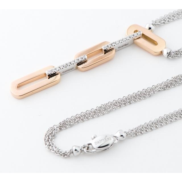 Damiani(ダミアーニ)のダミアーニ インスィエメ  ダイヤモンド  ペンダント・ネックレス レディースのアクセサリー(ネックレス)の商品写真