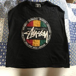 STUSSY - ステューシー 袖なし Tシャツ